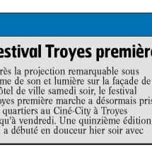 Festival Troyes Première Marche : c'est parti!
